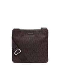 Michael Kors Jet Set Logo Crossbody Brown