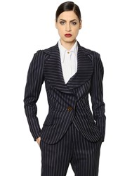 Vivienne Westwood Pinstriped Cool Wool Jacket
