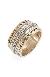 Men's Konstantino 'Orpheus' Carved Band Ring