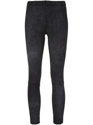Kaufman Franco Kaufmanfranco Faded Effect Leggings Grey