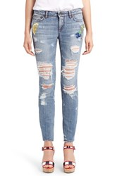 Dolce And Gabbana Women's Embellished Skinny Jeans