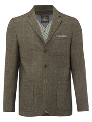 White Stuff Men's Thunder Blazer Biscuit