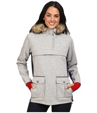 Dale Of Norway Fjellanorakk Jacket Light Grey Women's Coat Gray