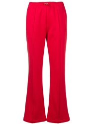 Moncler Drawstring Track Trousers Red