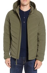 Marc New York Delavan Down Hooded Jacket Moss