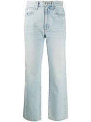 Slvrlake Cropped High Waisted Jeans 60