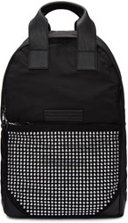 Mcq By Alexander Mcqueen Black Studded Backpack