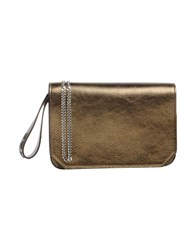 Rochas Bags Handbags Women Bronze