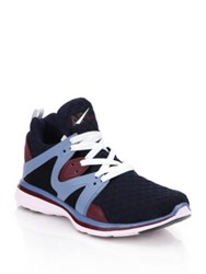 Athletic Propulsion Labs Ascend Mesh And Rubber Runner Sneakers Midnight Multi
