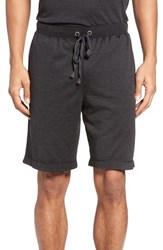 Daniel Buchler Men's Silk And Cotton Lounge Shorts