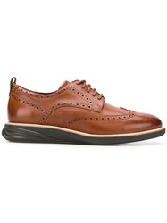 Cole Haan Wingtip Oxford Shoes Brown