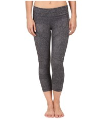 Spyder Chance Crop Pants Image Grey Washed Print Women's Workout Gray