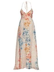Athena Procopiou Stay Wild Moon Child Silk Dress