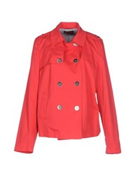Diana Gallesi Coats And Jackets Jackets Women Coral