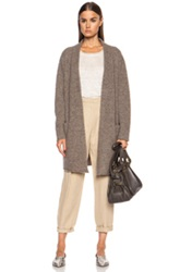 Jenni Kayne Sweater Wool Blend Coat In Neutrals