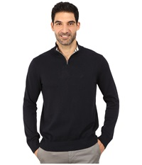 Nautica 1 4 Zip Sweater Classic Navy Men's Sweater