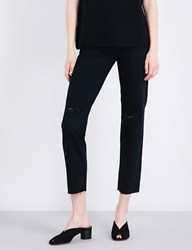 Ag Jeans Phoebe Tapered High Rise Rebellion