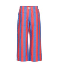Tommy Hilfiger Striped Jeans Red