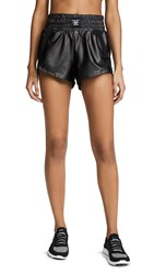 Heroine Sport Downtown Shorts Black Perforated