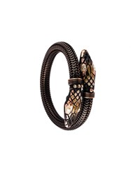 Gas Bijoux Snake Bangle Black