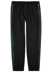 Tim Coppens Black Shell Jogging Trousers