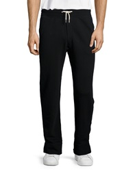 Rag And Bone French Terry Knit Sweatpants Black