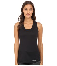 Marmot Aero Tank Top Black Women's Sleeveless