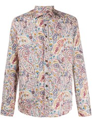 Etro Paisley Print Regular Fit Shirt 60