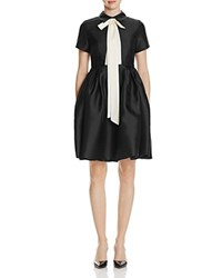 Gracia Tie Neck Dress Compare At 104 Black