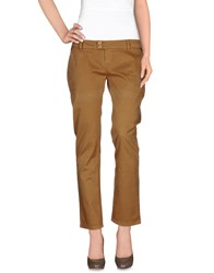 Atelier Fixdesign Trousers Casual Trousers Women Camel