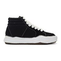 Miharayasuhiro Black Original Sole High Top Sneakers