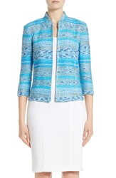 St. John Women's Collection Imani Tweed Knit Jacket