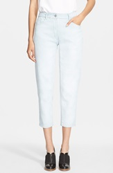 3.1 Phillip Lim Tapered Crop Jeans Glacier