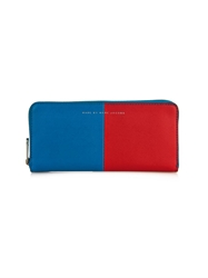Marc By Marc Jacobs Sophisticato Two Tone Leather Wallet