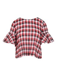 George J. Love Shirts Blouses Red