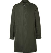 Todd Snyder Tech Shell Raincoat Green