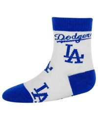For Bare Feet Babies' Los Angeles Dodgers Socks
