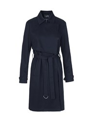 Mbym Cool Navy Trench Coat