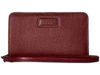 Tumi Belden French Purse Brick Red Wallet Handbags