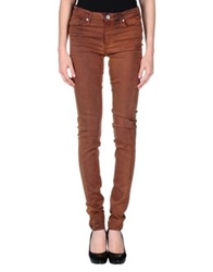Thvm Denim Pants Tan