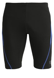 Gore Running Wear Essential Tights Black Brilliant Blue