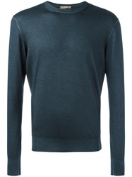 Cruciani Casual Jumper Blue