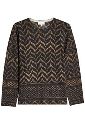 Lala Berlin Printed Wool Pullover Multicolored