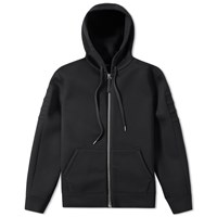 Helmut Lang Taped Jersey Zip Hoody
