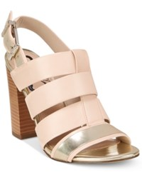 Circus By Sam Edelman Natalie Caged Slingback Dress Sandals Women's Shoes Sand Tropez