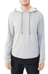 Alternative Apparel Men's Alternative 'Jetway' Colorblock French Terry Hoodie