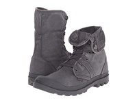 Palladium Pallabrouse Baggy Forged Iron Brush Nickel Men's Lace Up Boots Gray