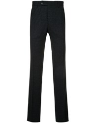 Gieves And Hawkes Tailored Pants Silk Polyamide Wool Black