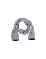 Fred Perry Oblong Scarves Light Grey
