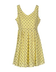 Anonyme Designers Dresses Short Dresses Women Yellow